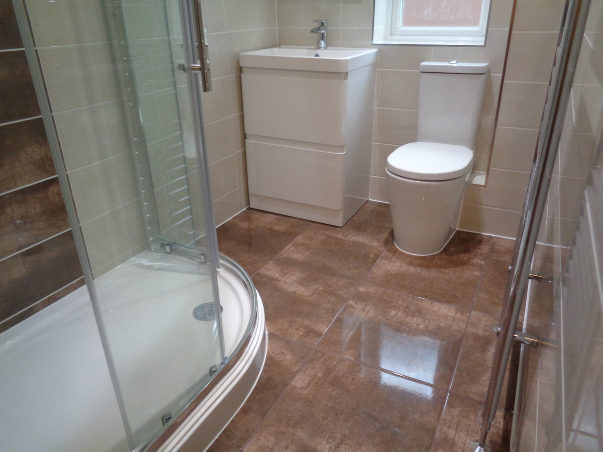 Remodel Bathroom to Shower Room Hepworth Rd Binley Coventry
