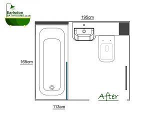 New bathroom design bishops tachbrook leamington spa