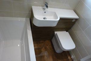 tavistock match Havana Oak left hand basin unit