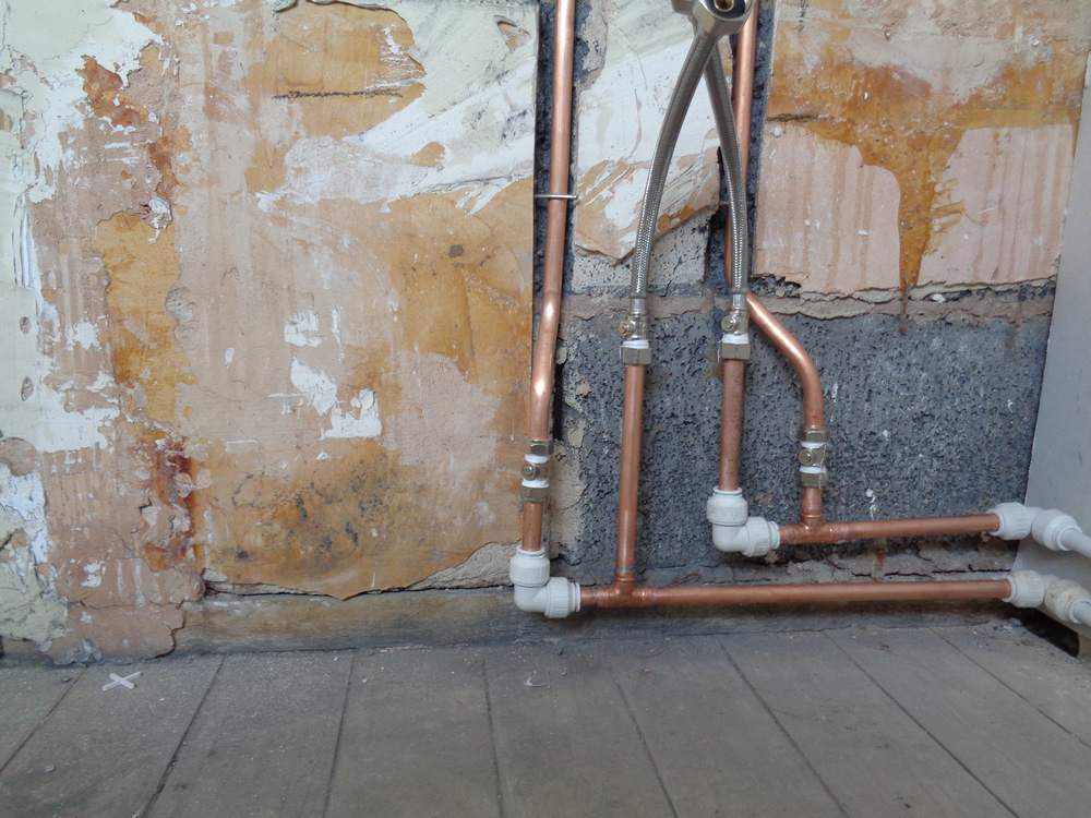 Bath And Shower Water Pipes Earlsdon Bathrooms