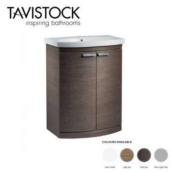 Tavistock Tempo Freestanding Vanity Basin 650mm Dark Java