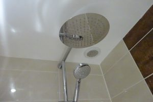 Chrome Fixed Head Thermostatic Shower