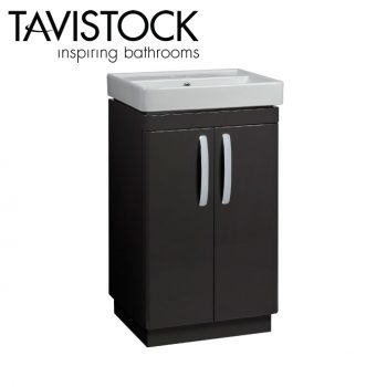 Tavistock Compass 500mm Freestanding Basin Unit Gloss Clay