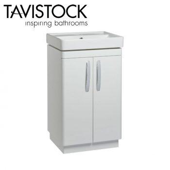 Tavistock Compass 500mm Freestanding Basin Unit Gloss White