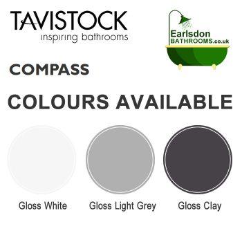 Tavistock Compass 600mm Vanity Freestanding Basin colour chart