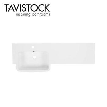 tavistock courier 1200mm Isocast Basin toilet top