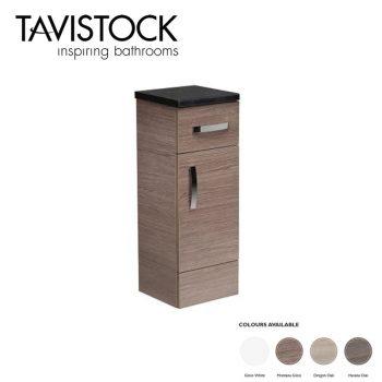 tavistock courier 300mm Floor cupboard unit montana gloss