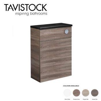 tavistock courier 600mm back to wall toilet unit havana oak