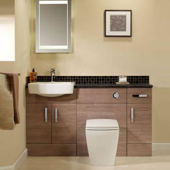 tavistock courier combined basin toilet cupboard unit