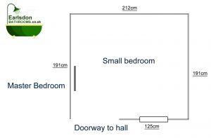 Bedroom Floor Plan Greville Road Kenilworth