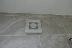 Bathroom wall extractor fan