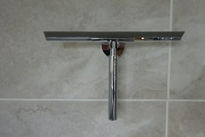 Haceka Kosmos Shower Squeegee With Wall Mount Chrome 1116140