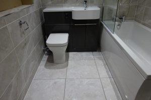 Wall tile British Ceramic Tile Round Hay Grey BCT47162 Insignia White Floor