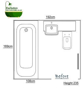 Bathroom design upper eastern green Coventry