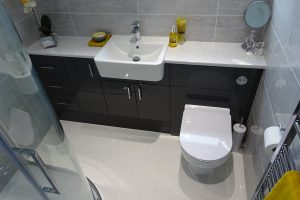Graphite Grey Zeal Bathroom fitted furniture
