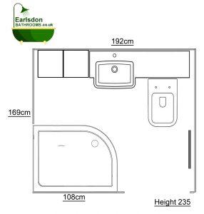Shower Room design upper eastern green Coventry