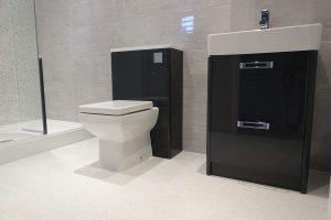 Tavistock Q60 Graphite Vanity Basin Toilet