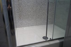 Merlyn Ionic Essence 1200mm framed sliding shower door enclosure