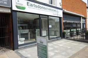 Earlsdon Bathrooms Showroom and Shop at 28 Earlsdon Street Coventry