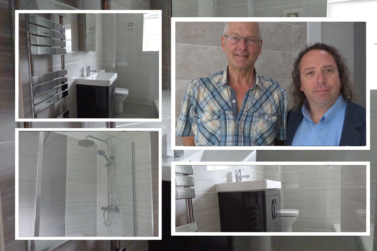 Mick gave a Review following our work on his Bathroom