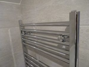 Chrome Bathroom Towel Rail