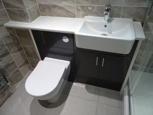 Graphite Grey Bathroom Fitted Furniture