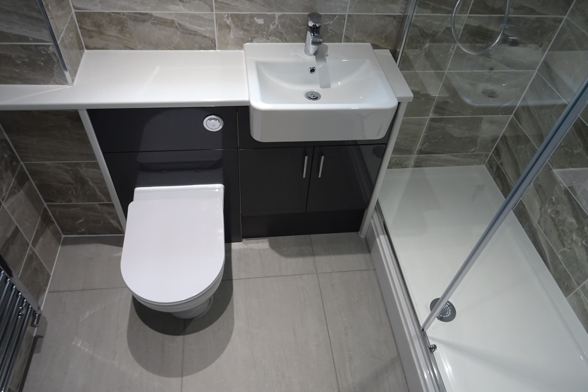 Shower Room Conversion Watergall Close Southam