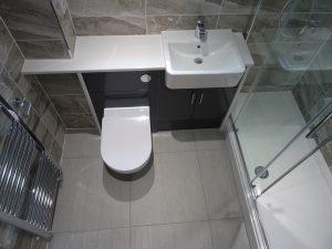 Meryln Ionic Essence 1700mm framed sliding shower door enclosure
