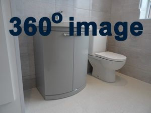 360 Degree image of a fitted shower room Coventry