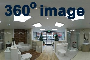 Earlsdon Bathrooms inside the middle of the showroom