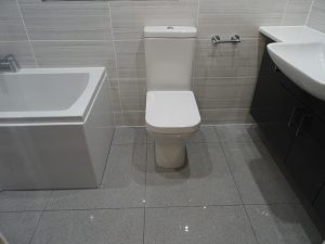 Bathroom with Bath, toilet and Fitted Basin Thamley Rd Coventry