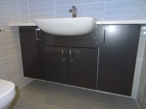 Wall hung bathroom furniture Thamley Road Coventry