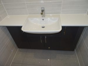 Wall to wall fitted bathroom furniture Coventry