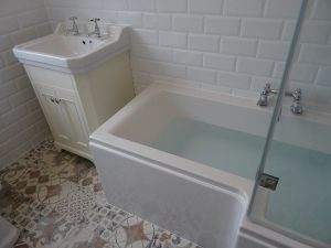 Tavistock vitoria vanity basin fitted in Coventry