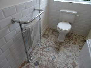 Traditional style tiles radiator toilet fitted bathroom coventry