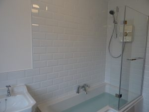 aqualisa lumi electric shower fitted in bathroom coventry