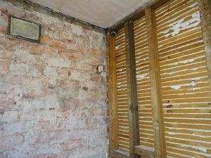 Bathroom lath and plaster removed Coventry