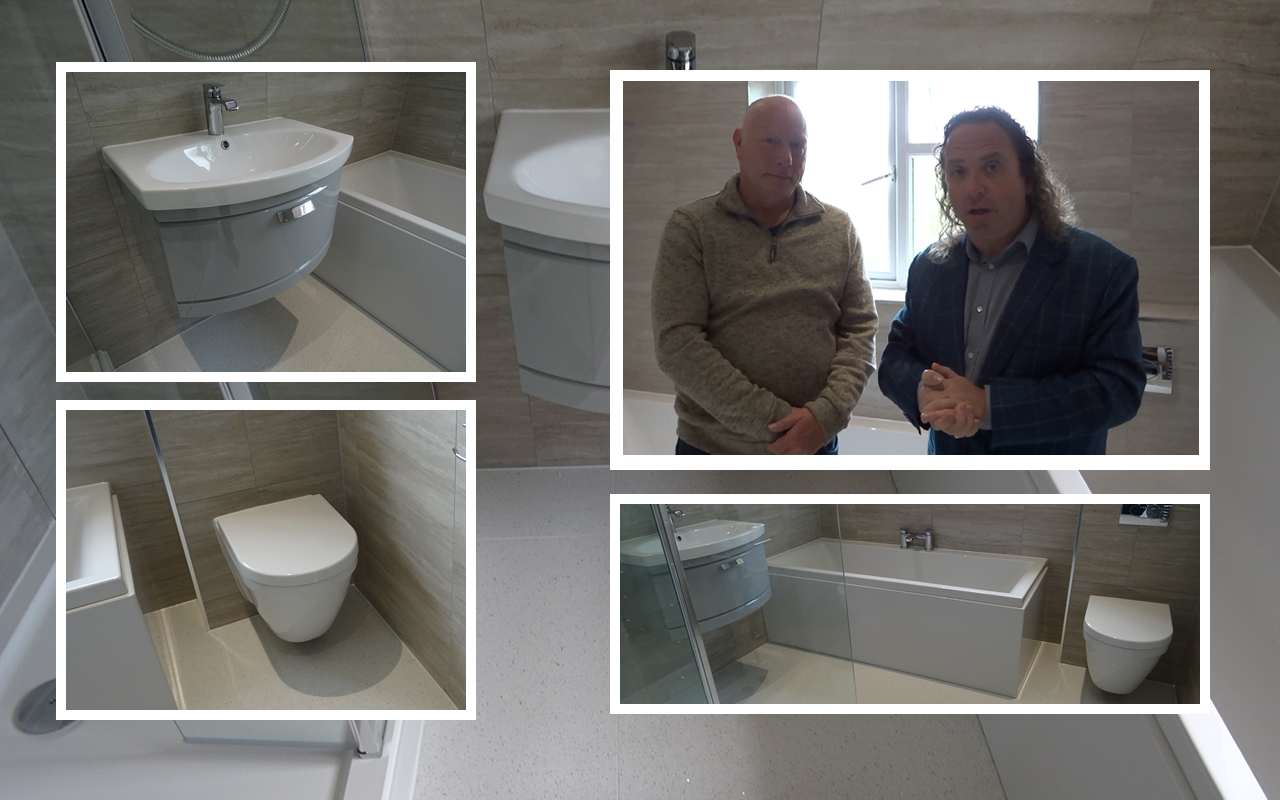 Customer Review From Terry Following Bathroom Renovation