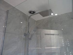Fully Tiled walk in shower room Coventry