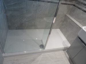 Walk In stone resin shower tray Coventry