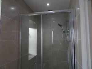 Ensuite Shower Room with shower enclosure