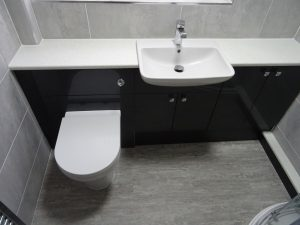 Graphite grey fitted Bathroom Coventry