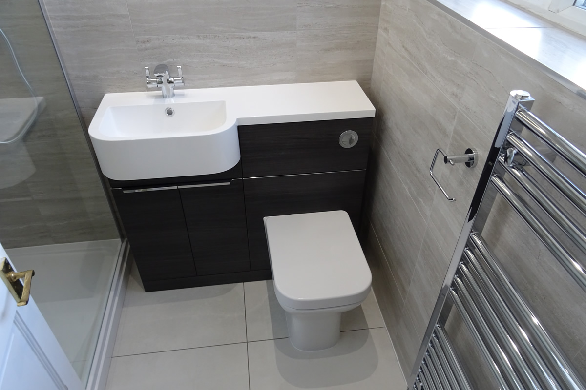 Bathroom Converted To Shower Room Hartington Crescent Coventry