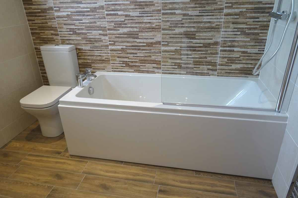New Fitted Bathroom Warwick